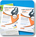flyers in a5 en a6 formaat
